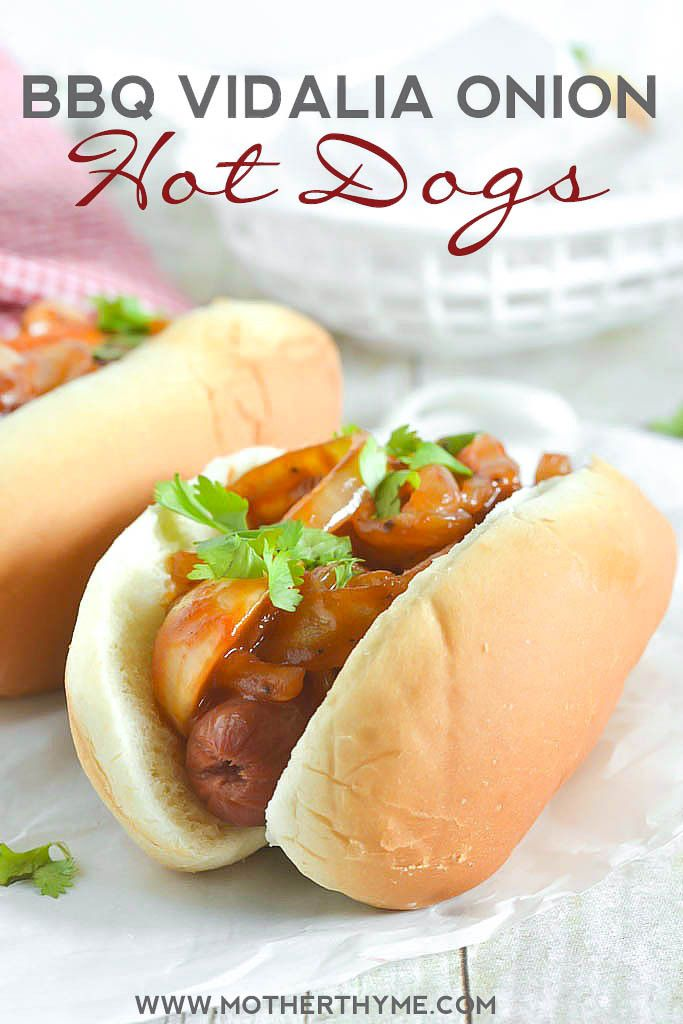 Hot Dog And Onions Recipe