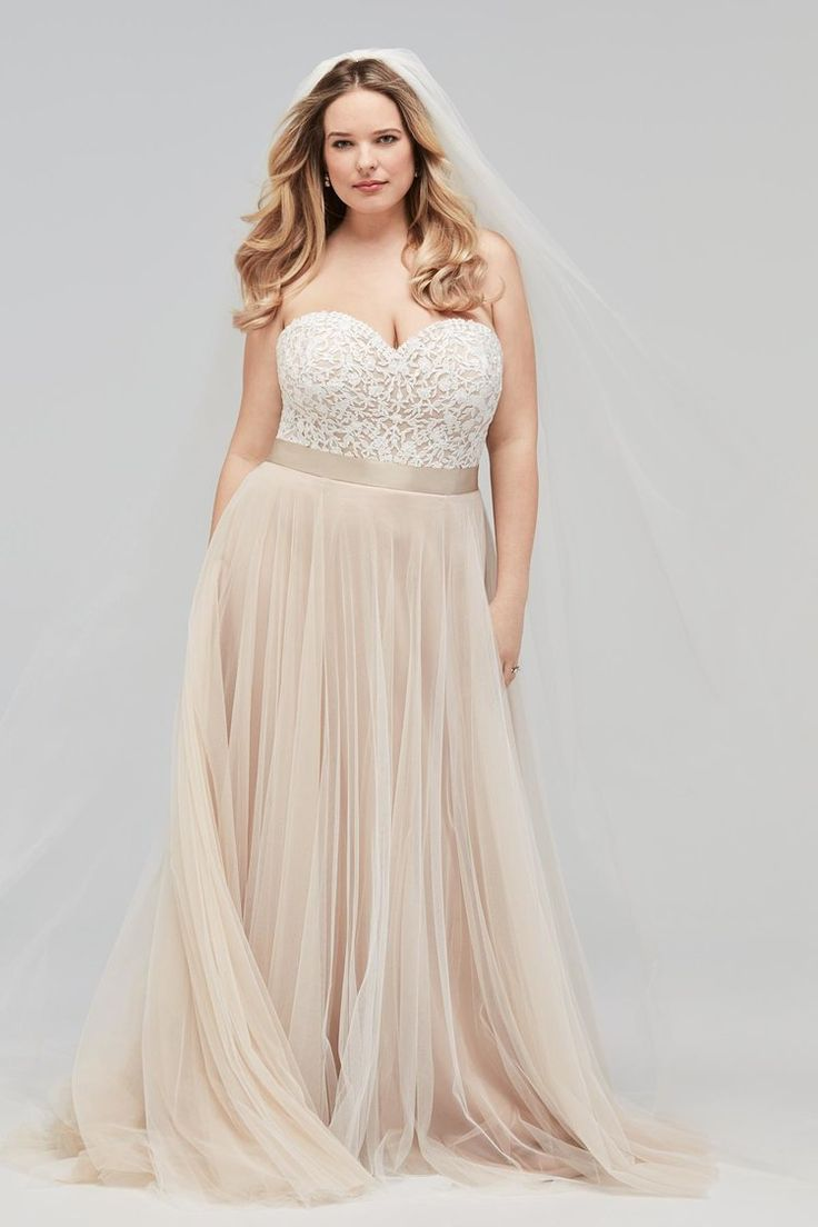 316 best for the plus size bride images on pinterest for Plus size wedding dresses in atlanta