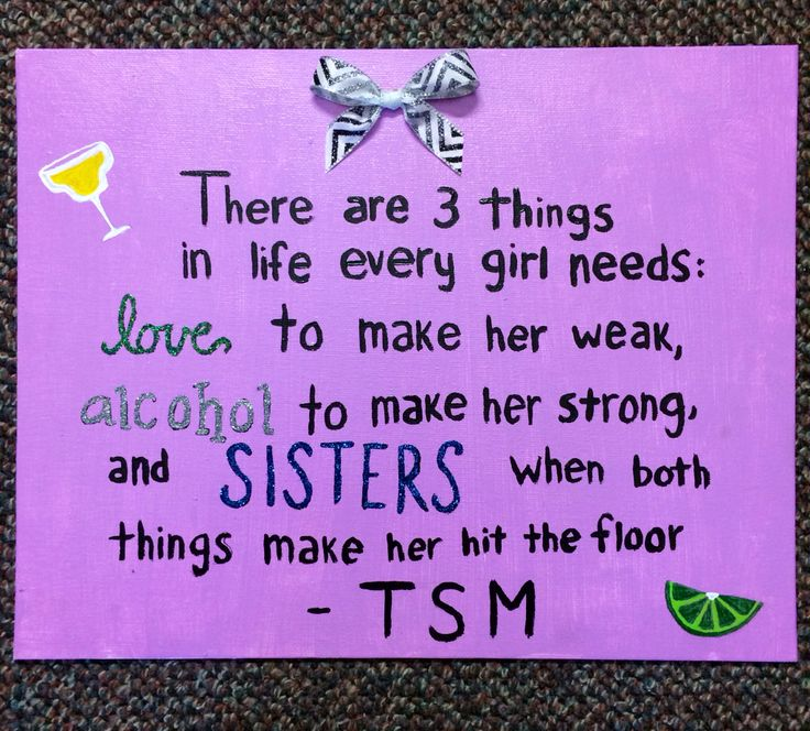 Perfect TSM quote for big/ little reveal
