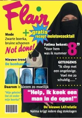 Gewaagde cover van Flair door het Vlaams Belang