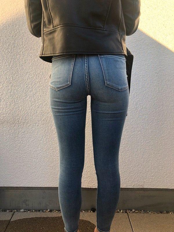 f6f159e62632aa Jeggings Abercrombie - kleiderkreisel.de Hohe Taille Jeans, Damenmode,  Anziehen, Kleidung,
