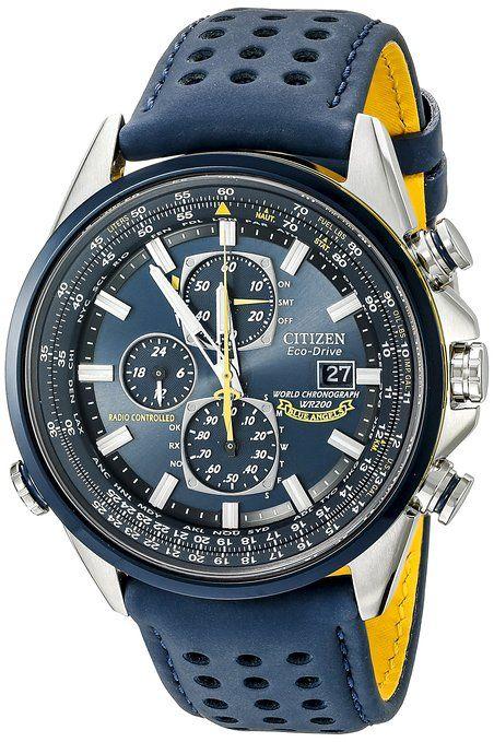 Citizen Men's AT8020-03L Blue Angels World A-T Eco-Drive Watch
