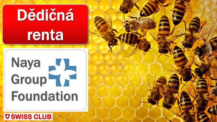Kdo je pilný jako včelička, dědičná renta se mu jistě líbí! Info ve Swiss Club News.