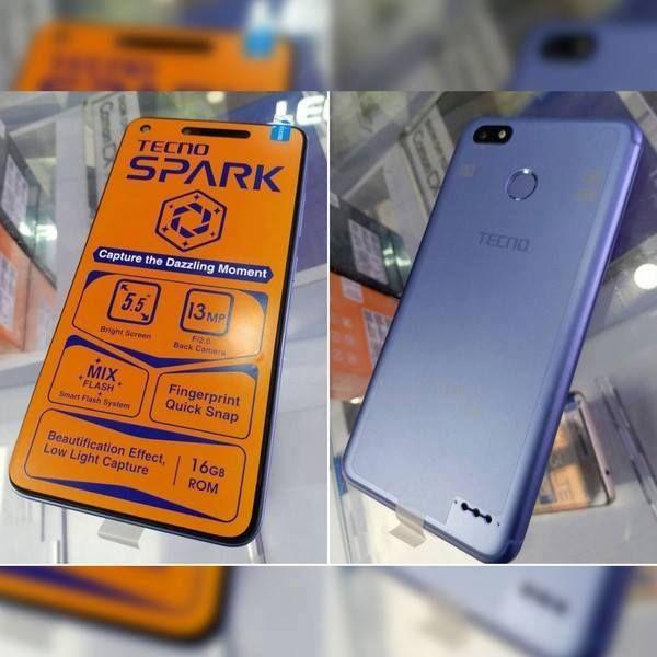 #Prix : 58.900 FCFA en promo Le nouveau joyau de TECNO MOBILE est disponible...  #TECNO #SPARK (K7) téléphone high-tech avec une excellente qualité photo à un coût très accessible   - RAM 1 Go - ROM 16 Go - Processeur OctaCore 1.3 GHz - Ecran 5.5 pouces - Caméra arrière 13 mégapixels avec flash LED - Caméra arrière 5 mégapixels avec flash LED - Batterie 3000mAh - Capteur d'empreinte digitale - Android 7.0  #Prix : 58.900 FCFA en promo #Garantie 6 mois  Pour vos livraisons ,Contacts Whatsapp…