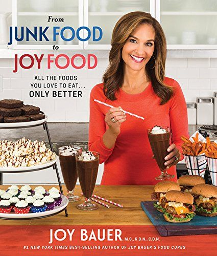 From Junk Food to Joy Food: All the Foods You Love to Eat...Only Better by Joy Bauer http://smile.amazon.com/dp/140195037X/ref=cm_sw_r_pi_dp_k2hLwb1AXZJYC