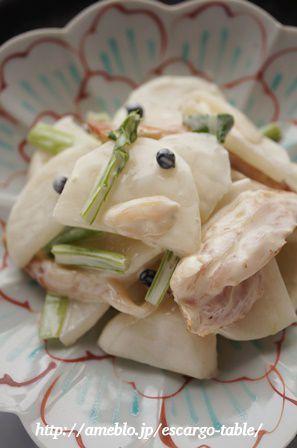 わが家の常備菜♪「かぶのサラダ」と「ひじきのサラダ」♪ by ...