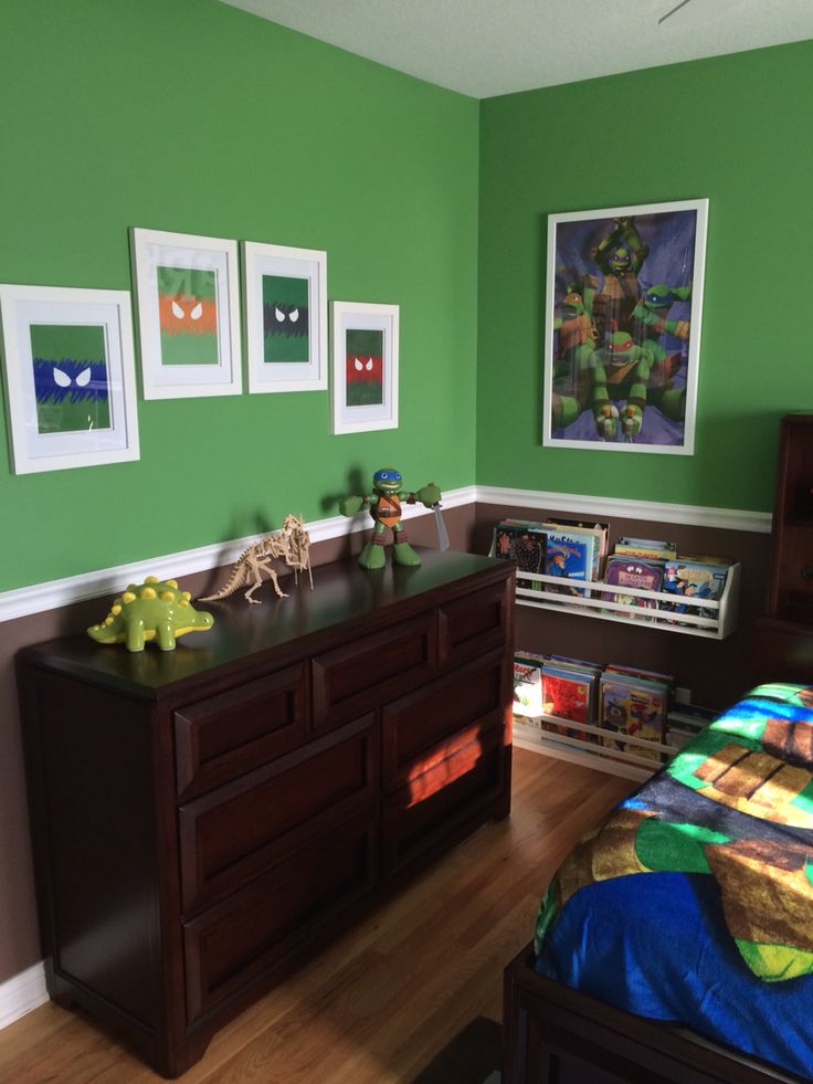 Ninja turtle room