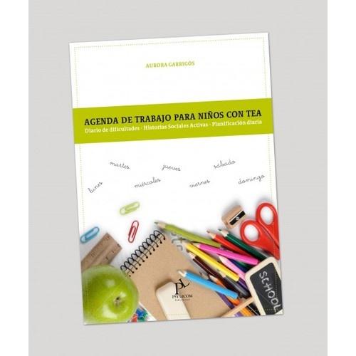 """""""AGENDA DE TRABAJO para niños con TEA"""""""