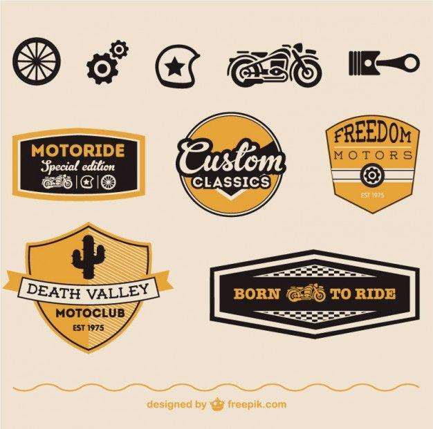 Bien connu Les 25 meilleures idées de la catégorie Logo moto sur Pinterest  ED67