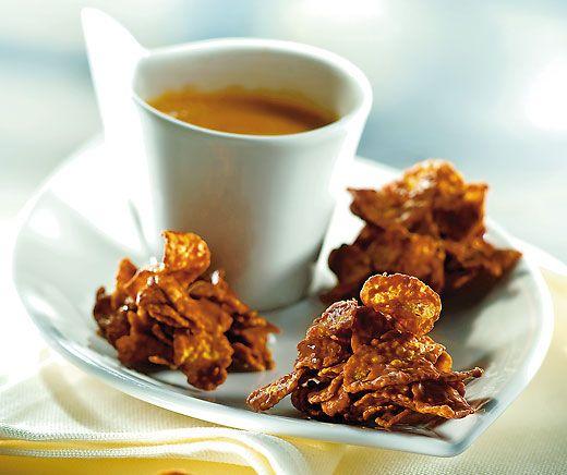 Cornflakes-Schoggi-Häufchen