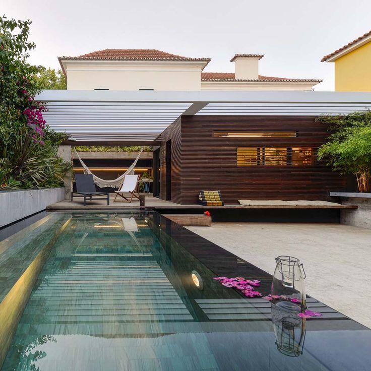 1000 ideas sobre piscinas de nivel del suelo en pinterest - Piscinas en terrazas ...