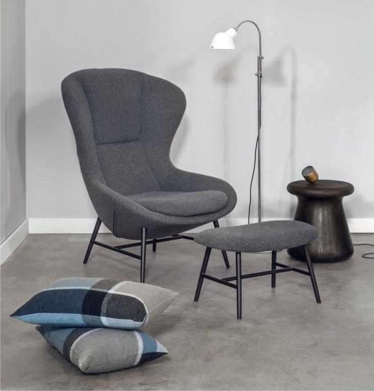 FOTEL TAPICEROWANY BERGER - Nowoczesne meble design, włoskie meble do salonu i sypialni, wyposażenie wnętrz
