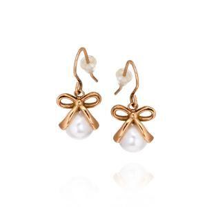 Molly bride earring rose Ingnell Jewellery
