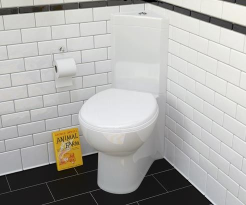 Metro Compact Corner Toilet - V30121055PH scene square medium