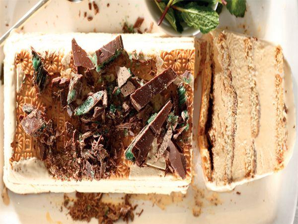 Bevrore peppermint crisp-tert. Xander Bezuidenhout van Brits het hierdie heerlike resep aan ons gestuur.