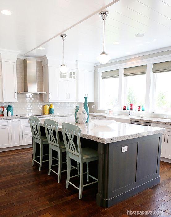 White Kitchen Aqua Accents 740 best kitchen images on pinterest | kitchen, home and kitchen ideas