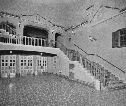 "The Texas Theatre in Oak Cliff  — which opened in April, 1931 — was the first movie theater in Dallas built expressly to show movies with sound. It was also the largest ""suburban"" theater in the Dallas area — only downtown's first-run Majestic and Palace theaters were larger. Photo is of the theater's original ""Venetian-style"" interior"