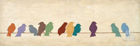 Birds Meeting Art Print by Patricia Quintero-Pinto at eu.art.com