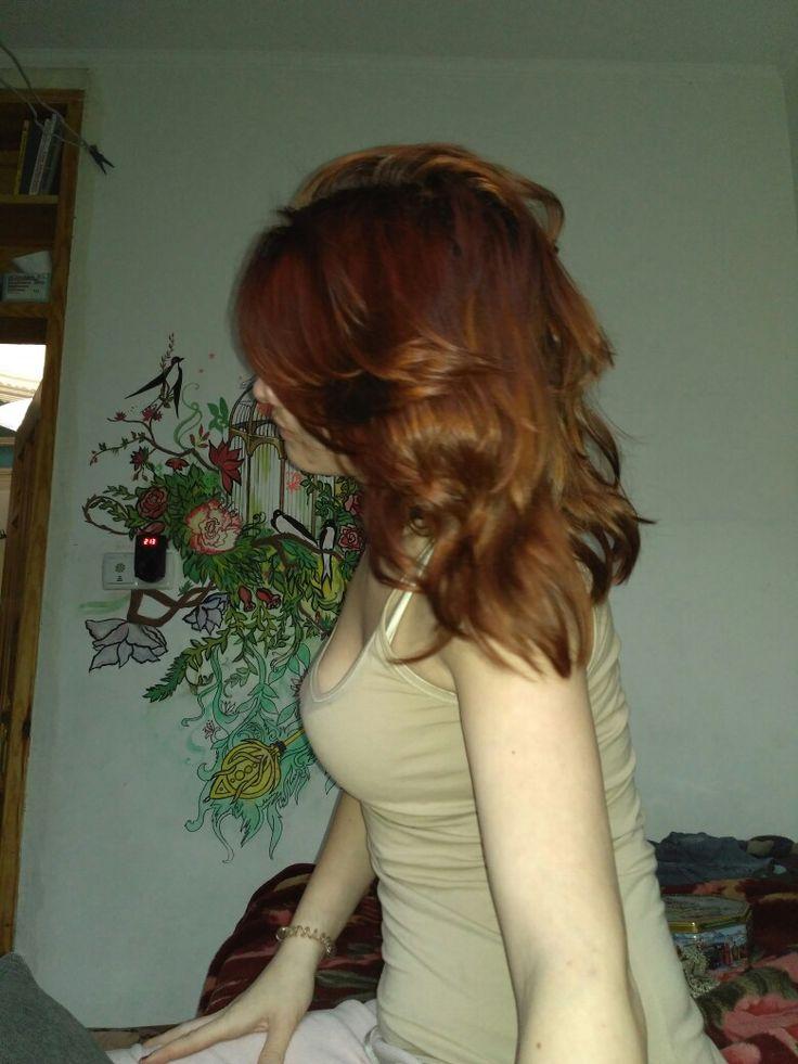 Heir Henna my love. Волосы окрашенные хной без добавок.@darjapronina