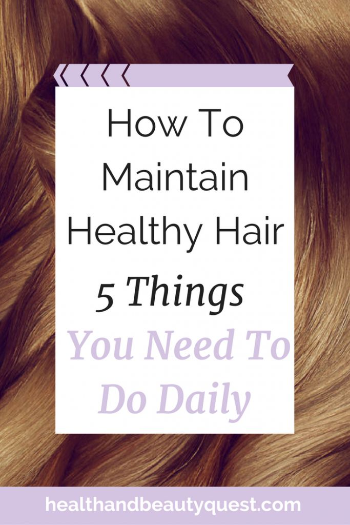 Healthy, luscious, thick and long hair is a burning desire for most women I know. That's why I want you to know about the 5 things you need to do, to maintain healthy hair. Just 5 easy, daily fixes I learned while working for the big haircare brands like L'Oreal and Dove, click through and get them now! Don't have time? Repin and save for later! <3
