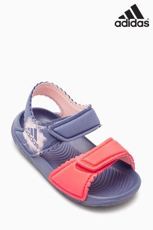 Purple/Orange adidas Alta Swim Sandal