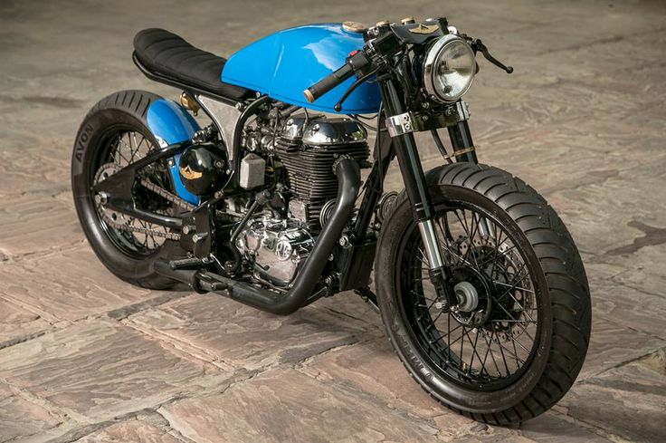 Cool custom Royal Enfield Bullet Café Racer built by Rajputana Customs. Check out the pictures, specs and story behind this custom motorcycle!
