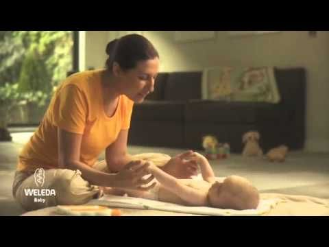 Weleda #Baby Massage Video - taking time with your little one is the perfect way to bond.