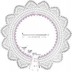 Ажурный воротник с фестонами Cute Simple Crochet Collar Jewelry Necklace