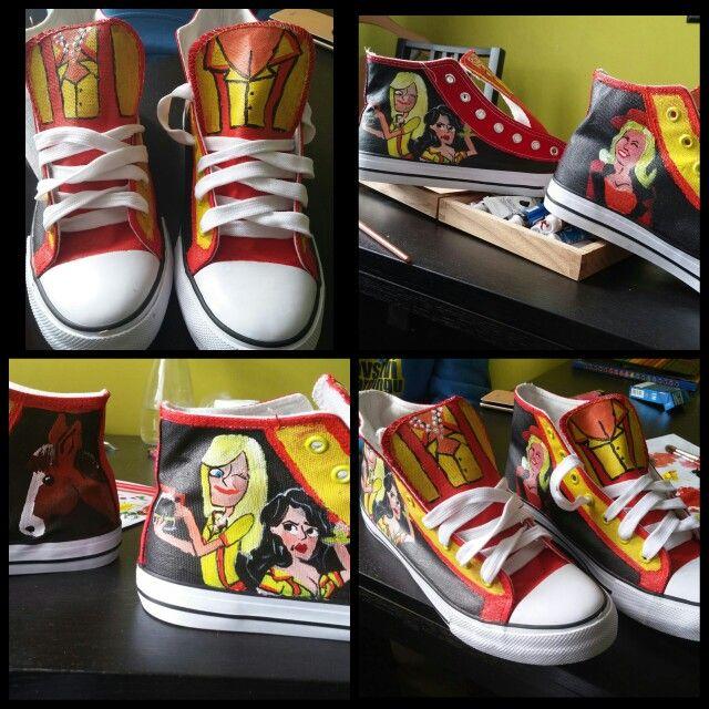 #2brokegirl #broke #girl #shoes #customized #original