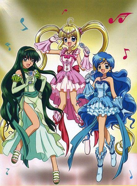 Tags: Anime, Mermaid Melody Pichi Pichi Pitch, Nanami Lucia, Houshou Hanon, Touin Rina
