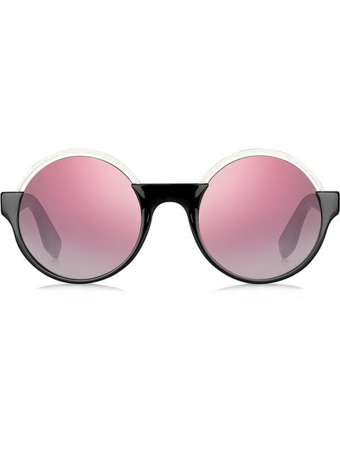 55e22533db66 Marc Jacobs Eyewear contrast round sunglasses Marc Jacobs Eyewear, Cat Eye  Sunglasses, Mirrored Sunglasses