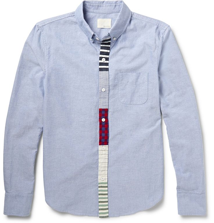 Band of Outsiders - Button-Down Collar Cotton Oxford Shirt | MR PORTER