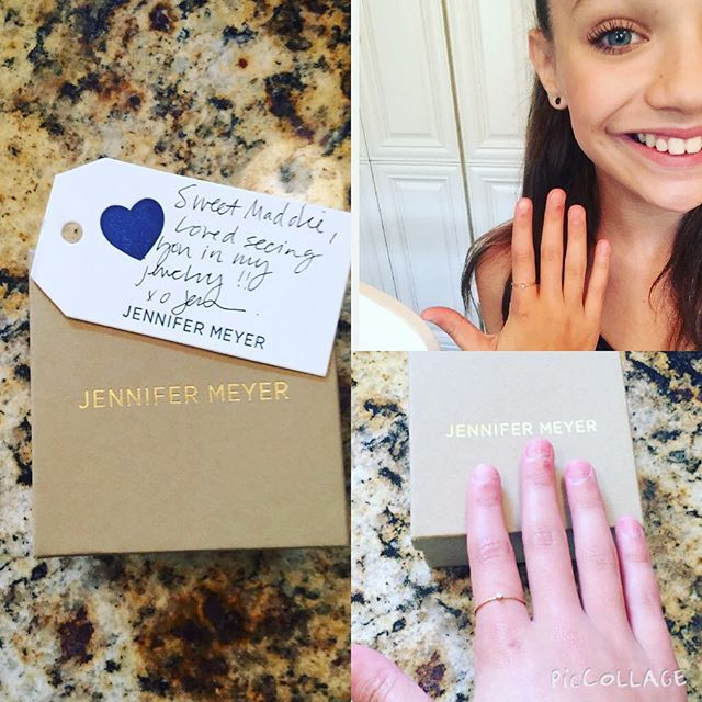 Pictures Of Maddie Ziegler Heart Ring