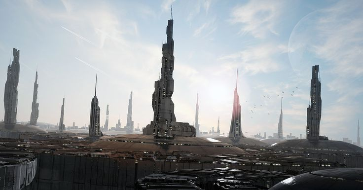 Spaceships by Jean-François Liesenborghs | Sci-Fi | 3D | CGSociety