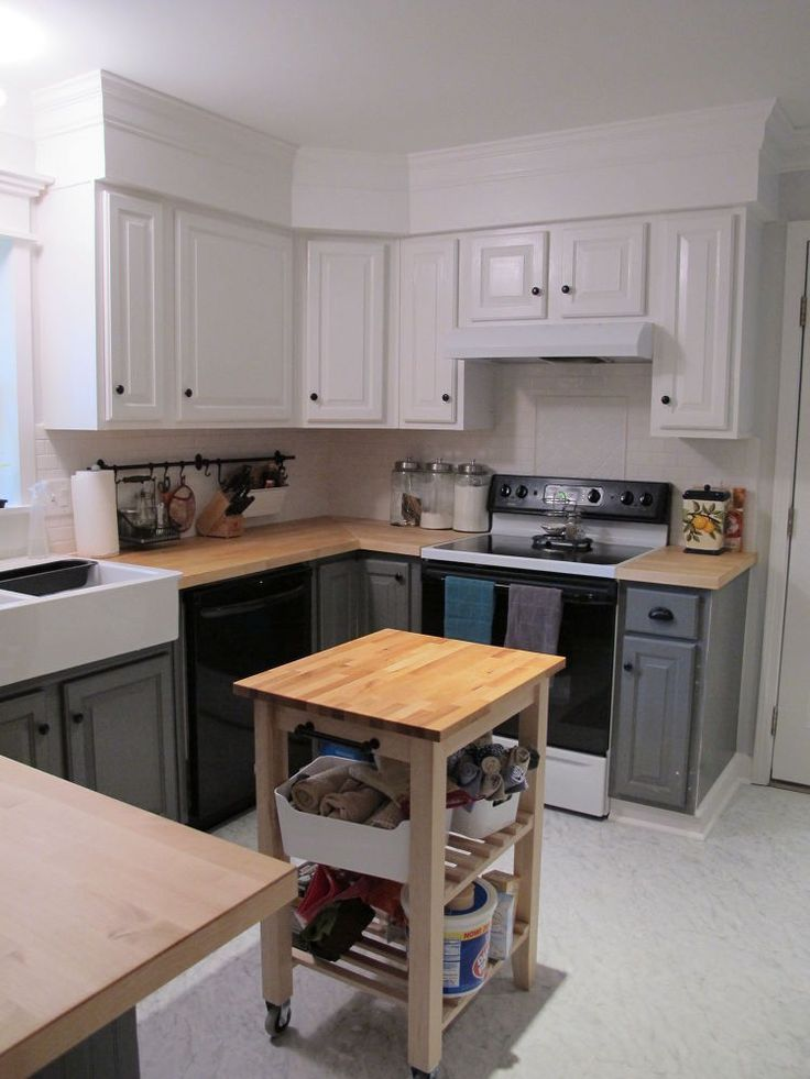 Kitchen redo ideas using white paint | Redo kitchen ...