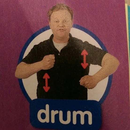 Drum - Makaton / Sign / Mr Tumble / Something Special