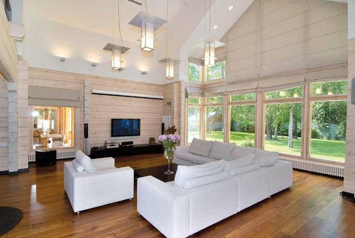 Maisons ossature bois construction maison avec ossature for Construction maison architecte