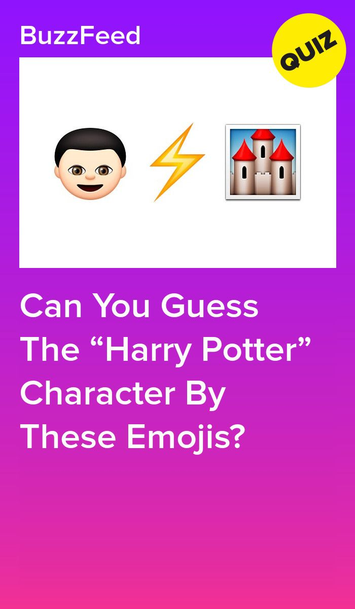 Can You Guess The Harry Potter Character By These Emojis Harry Potter Characters Harry Potter Emoji Harry Potter
