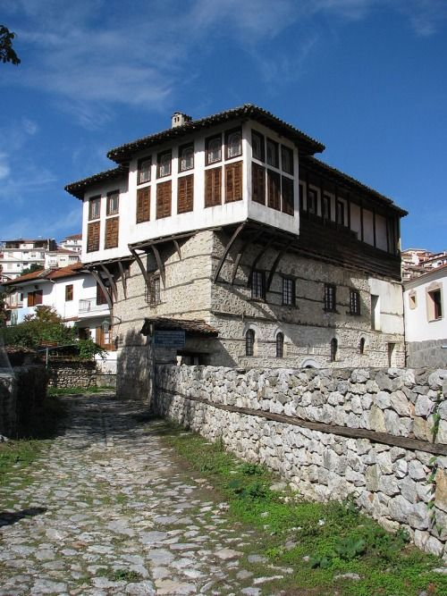 Mansion (1750) of the brothers John and Panayiotis Emmanouil, Kastoria, Greece. (Now Folk Costumes' Museum)