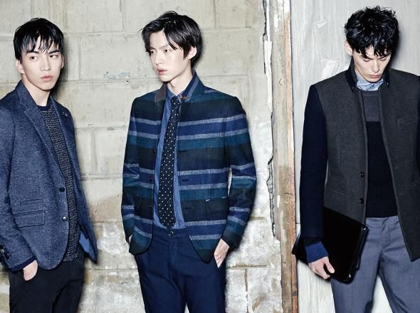 CHRIS CHRISTY 2014 FALL | DO SANGWOO , AHN JAEHYUN & KIM WONJOONG