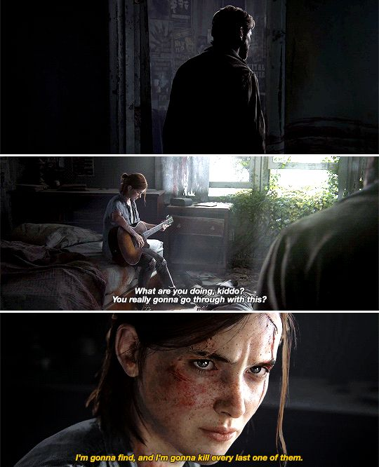 I'm gonna find, and I'm gonna kill, ever last one of them. #tlou