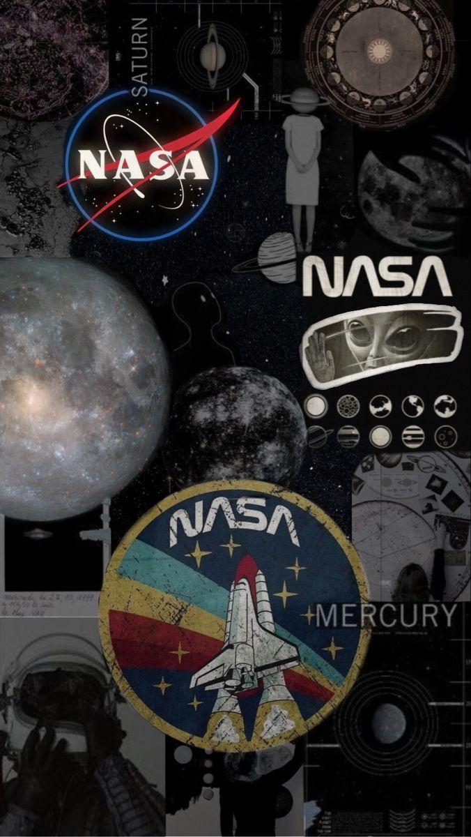 N A S A Wallpaper Di 2020 Poster Abstrak Lukisan Galaksi Ilustrasi Poster
