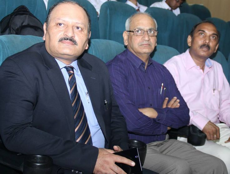 Mr. Rajiv Kapoor, Executive Vice President, Chief People Officer-Fortis Healthcare Limited, Dr. Rakesh Guglani and Mr. Chittranjan Kumar during Initiation 2014 - 2nd Day !