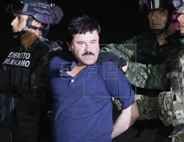 """Se aplaza la próxima audiencia judicial en el proceso de """"El Chapo"""" Guzmán"""