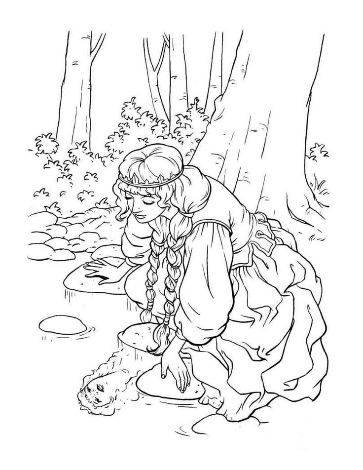 54 best Queen and Princess Coloring Pages images on ...