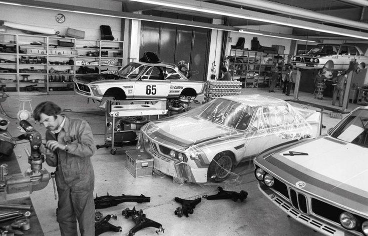 BMW Motorsport, 1973 - source Carros e Pilotos.