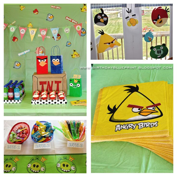 142 best angry birds party ideas images on pinterest bird party angry birds party the decorations solutioingenieria Images