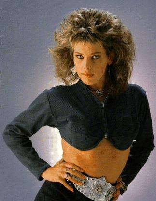 German singer C.C. Catch, italo disco star. Love the hair <3