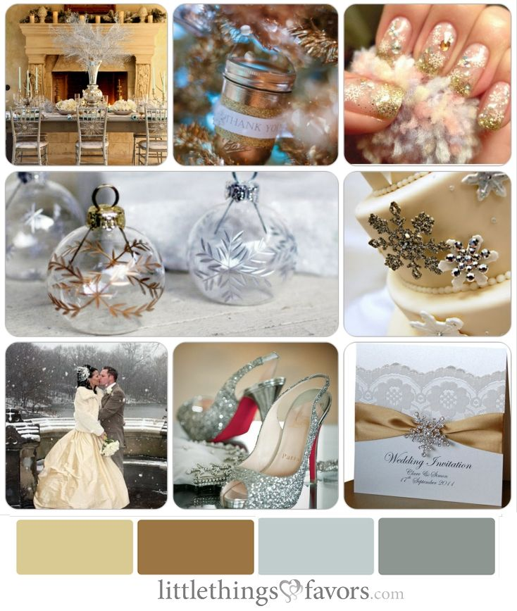 Winter Wedding Colors: 25+ Best Ideas About Silver Winter Wedding On Pinterest