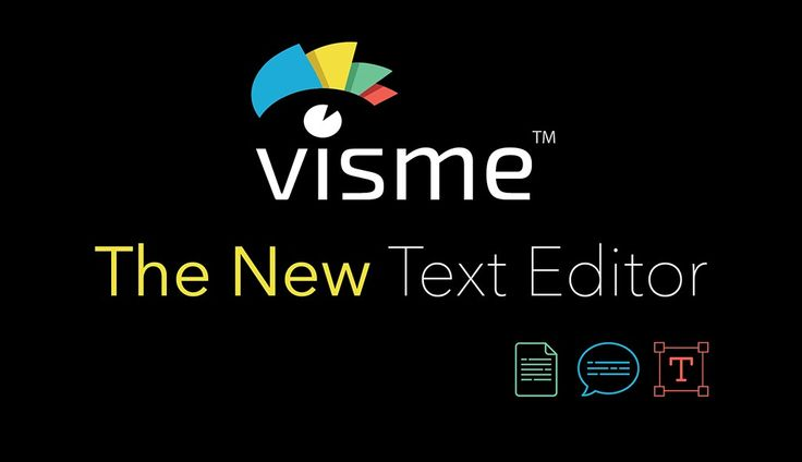 Visme's New Text Editor: Make Boring Text Come to Life | Visual Learning Center by Visme